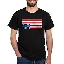 Inverted American Flag (Distress Signal) T-Shirt
