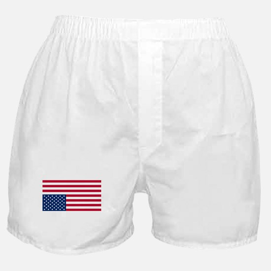Inverted American Flag (Distress Signal) Boxer Sho