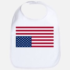 Inverted American Flag (Distress Signal) Bib