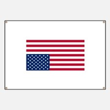Inverted American Flag (Distress Signal) Banner