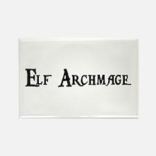 Elf Archmage Rectangle Magnet