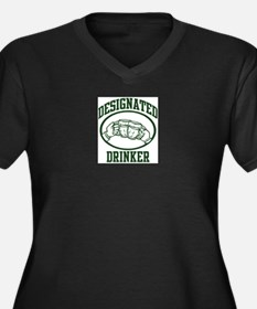 Designated Drinker (beer) Plus Size T-Shirt