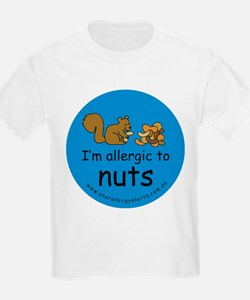 I'm allergic to nuts-squirrel T-Shirt