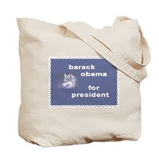 Animal Lovers for Obama Tote Bag