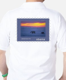Animal Lovers for Obama T-Shirt