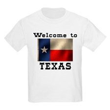 Welcome to Texas Kids T-Shirt