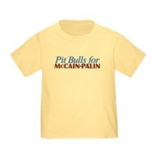 Pit Bulls for McCain Palin T