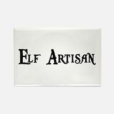 Elf Artisan Rectangle Magnet