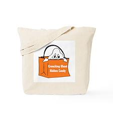 Crouching Ghost Tote Bag
