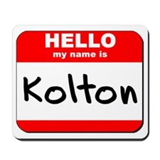Hello my name is Kolton Mousepad