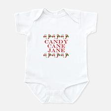 Candy Cane Jane Infant Bodysuit