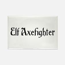Elf Axefighter Rectangle Magnet