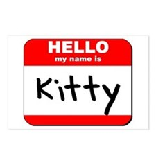 Hello my name is Kitty Postcards (Package of 8)