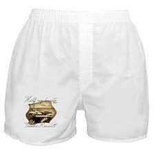 Cute I love my navy girlfriend Boxer Shorts