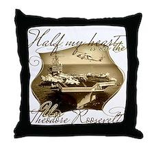 Cool Proud my sailor Throw Pillow