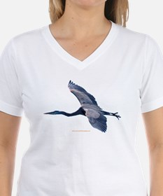 Great BLue Heron Shirt