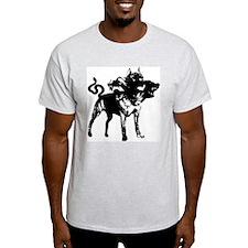 CERBERUS Ash Grey T-Shirt