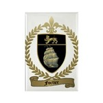 FORTIER Family Crest Rectangle Magnet (10 pack)