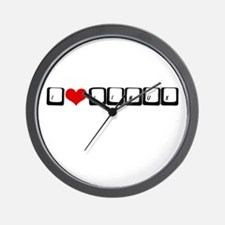I Love Linux Wall Clock