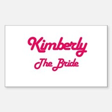 Kimberly - The Bride Rectangle Decal