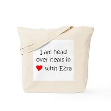 Unique I heart ezra Tote Bag