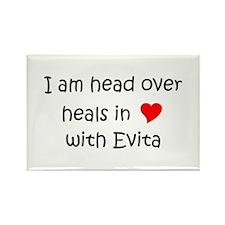 Evita Rectangle Magnet