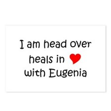 Cute I love eugenia Postcards (Package of 8)