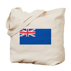 United Kingdom Blue Ensign Tote Bag