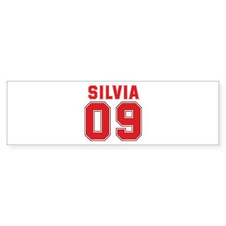 SILVIA 09 Bumper Sticker