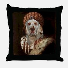 Clumber Spaniel TITIAN Throw Pillow