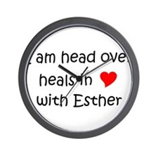 Cool Esther Wall Clock