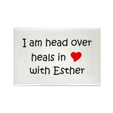 Funny Esther Rectangle Magnet