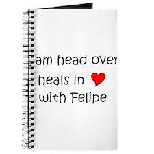 Funny I love felipe Journal