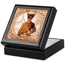 Basenji WILBER Keepsake Box