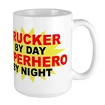 Trucker by Day Large Mug
