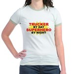 Trucker by Day Jr. Ringer T-Shirt