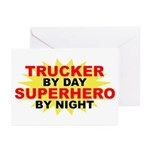 Trucker by Day Greeting Cards (Pk of 10)
