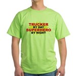 Trucker by Day Green T-Shirt
