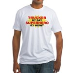 Trucker by Day Fitted T-Shirt