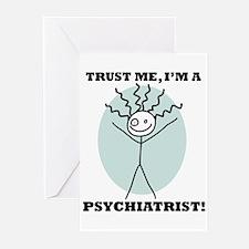 Trust Me Psychiatrist Greeting Cards (Pk of 10)