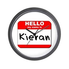 Hello my name is Kieran Wall Clock