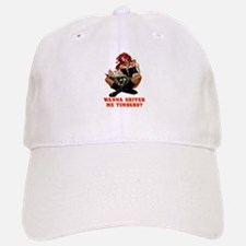 Pirate Wench Shiver Me Timbers Baseball Baseball Cap