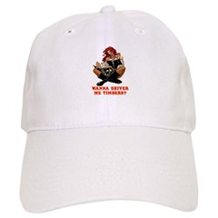 Pirate Wench Shiver Me Timbers Baseball Cap