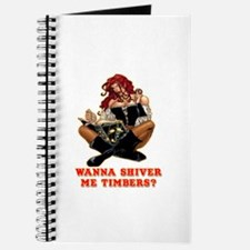 Pirate Wench Shiver Me Timbers Journal