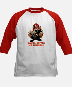 Pirate Wench Shiver Me Timbers Tee