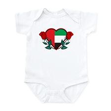 Heart UAE Infant Bodysuit
