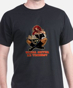 Pirate Wench Shiver me Timber T-Shirt