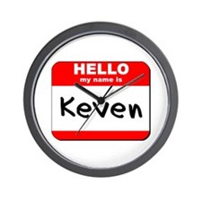 Hello my name is Keven Wall Clock