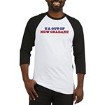 U.S. Out of New Orleans Baseball Jersey
