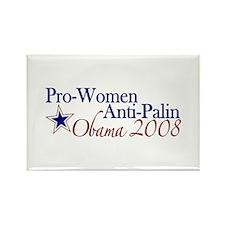 Pro Women Obama 2008 Rectangle Magnet